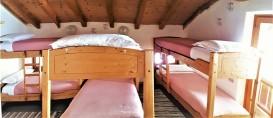 Camera 6 posti con balcone